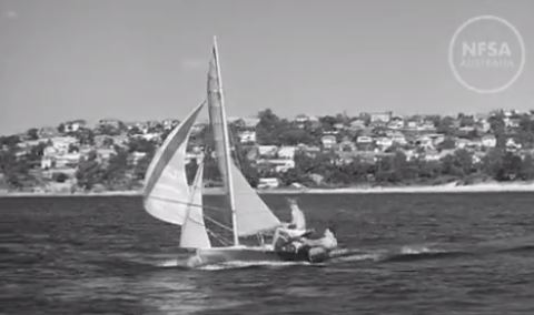Middle Harbour 16ft Skiff Club History Captured on Film