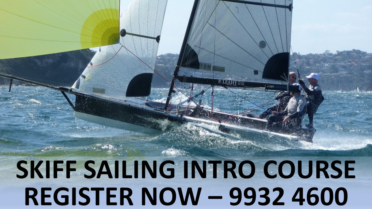Introduction to Skiff Sailing Course
