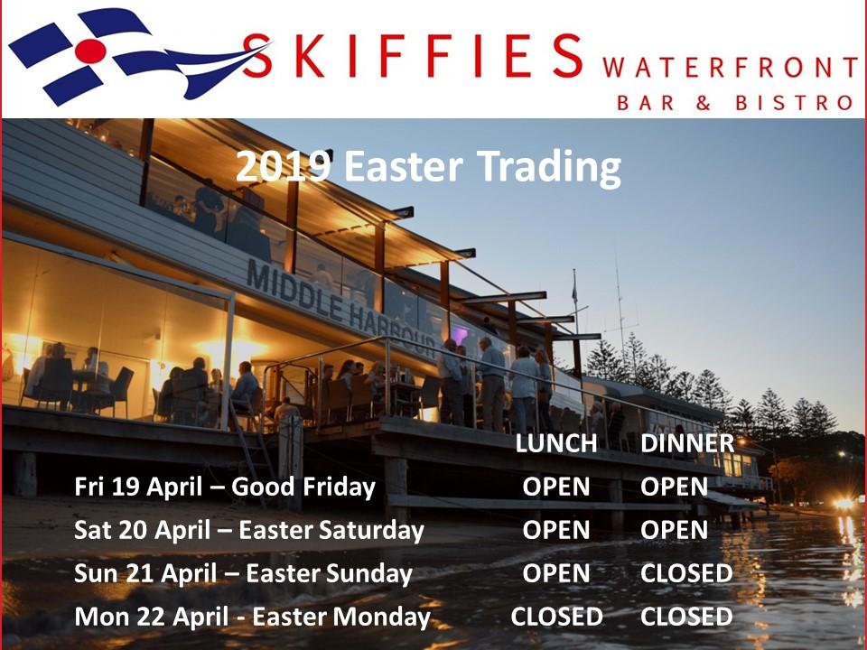 2019 Easter Trading